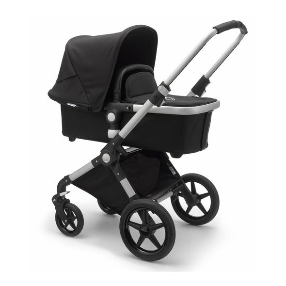 Bugaboo Lynx Complete Stroller in Aluminum/Black/Black