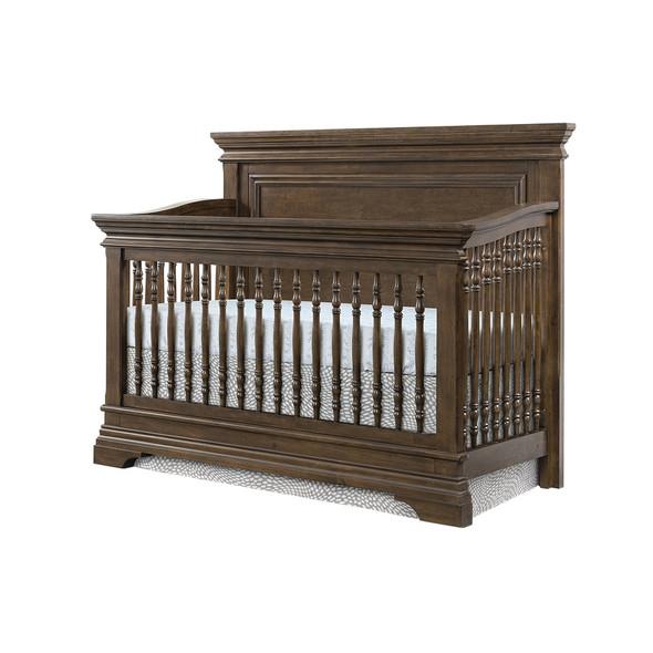 Westwood Olivia 2 Piece Nursery Set - Crib and 6 Drawer Dresser in Rosewood