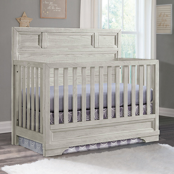 Westwood Foundry Convertible Crib in White Dove
