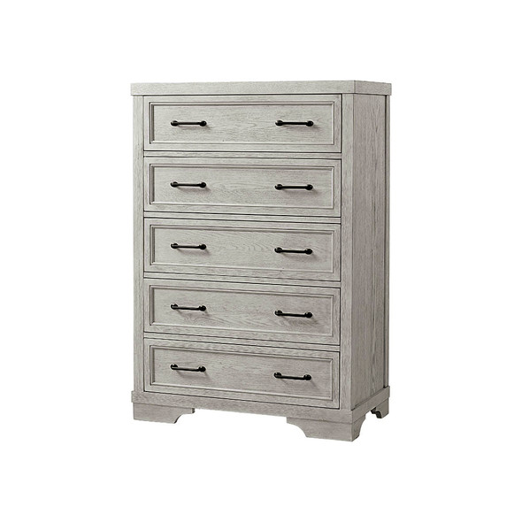 Westwood Foundry 5 Drawer Chest in White Dove