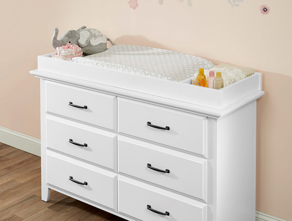 Oxford Baby Universal Changing Topper in White