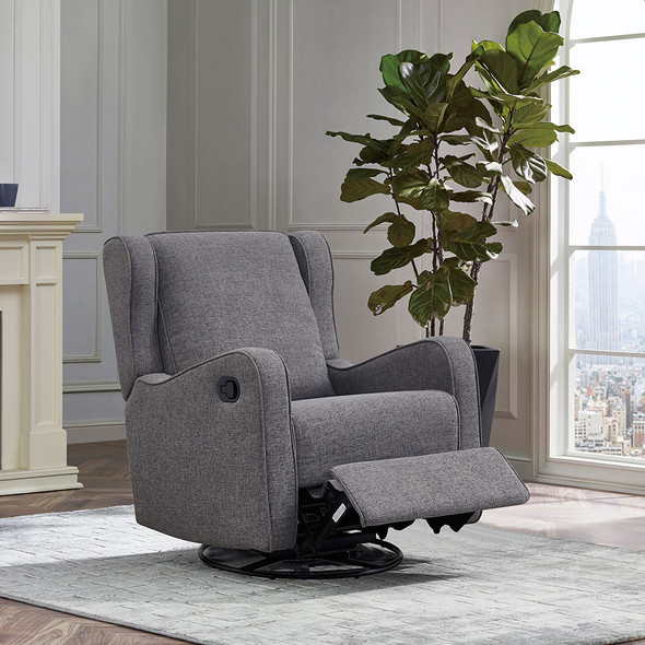 Westwood Skylar Glider - Swivel, Glider, and Recliner in Steel