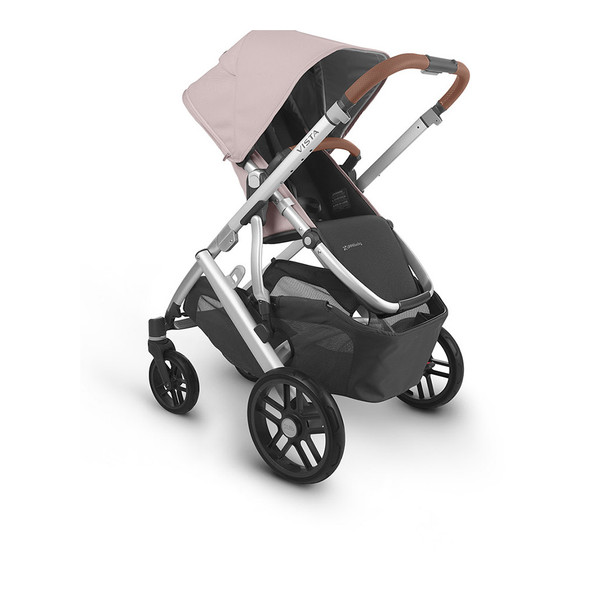 Uppa Baby Vista V2 Stroller - in Alice (dusty pink/silver frame/saddle leather)