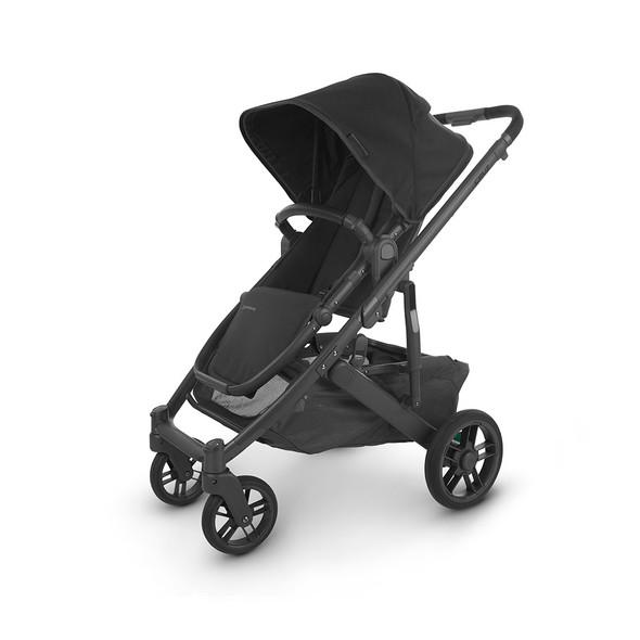 Uppa Baby Cruz V2 Stroller - in Jake (charcoal/carbon frame/black leather)