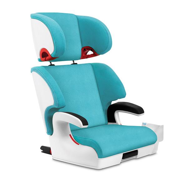 Clek Oobr Booster Seat in Capri White
