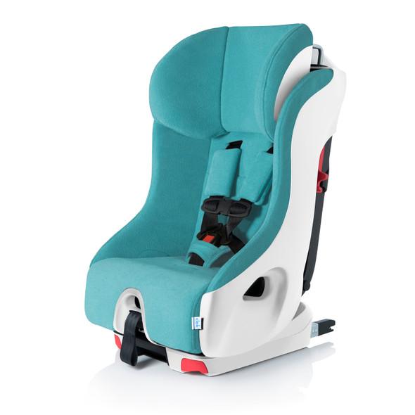Clek Foonf Car Seat in Capri White