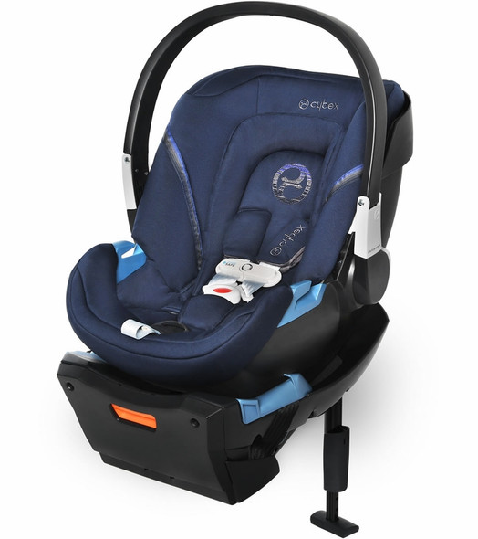 Cybex Aton 2 Sensorsafe Infant Car Seat in Denim Blue