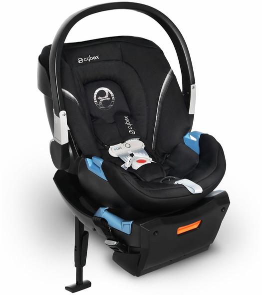 Cybex Aton 2 Sensorsafe Infant Car Seat in Lavastone Black