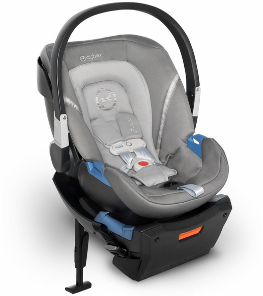 Cybex Aton 2 Sensorsafe Infant Car Seat in Manhattan Grey