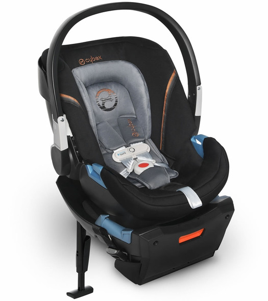 Cybex Aton 2 Sensorsafe Infant Car Seat in Pepper Black