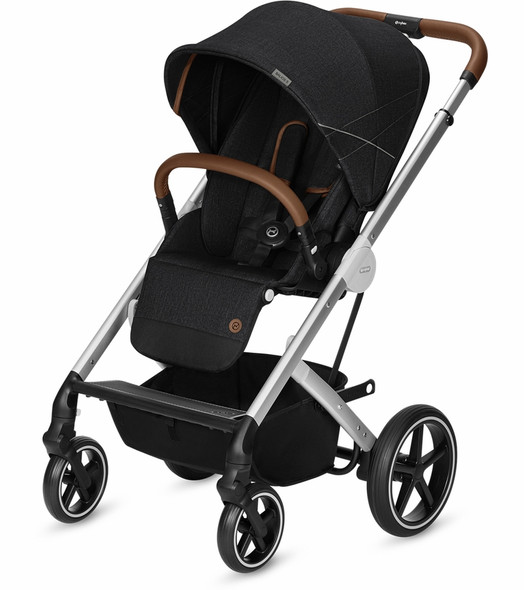 Cybex Balios S Gold+ Denim Stroller in Lavastone Black