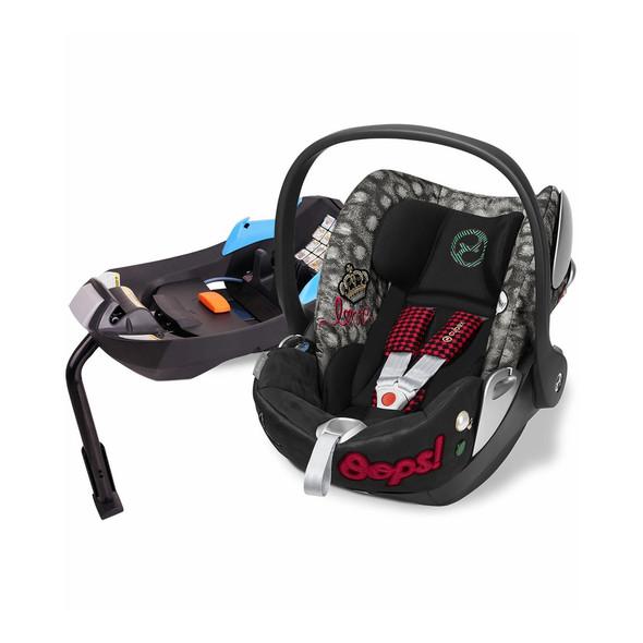 Cybex Cloud Q Plus incl. Sensorsafe Infant Car Seat 2.1 incl. Load Leg Base Rebellious in Multicolor