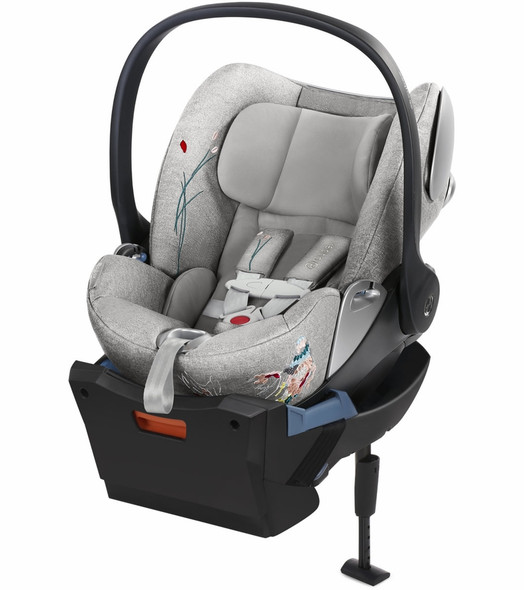 Cybex Cloud Q Sensorsafe Infant Car Seat Koi in Mid Grey
