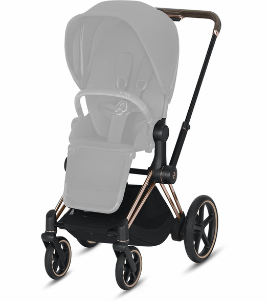 Cybex Epriam Frame incl. Seat Hardpart Rosegold in Rosegold