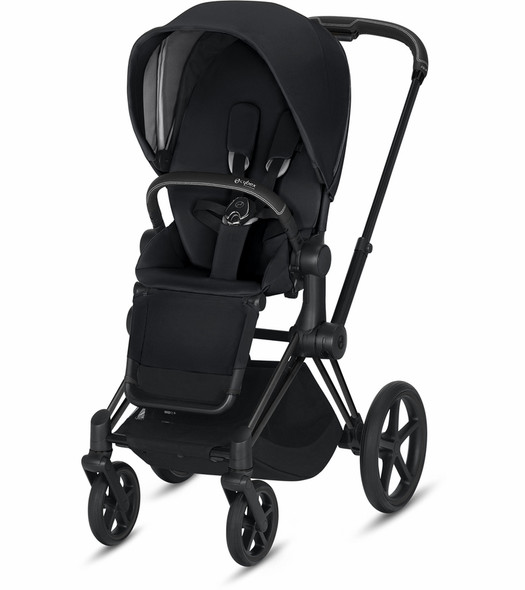 Cybex Epriam Matte Black Frame + Premium Black Seat