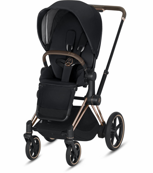 Cybex Epriam Rose Gold Frame + Premium Black Seat