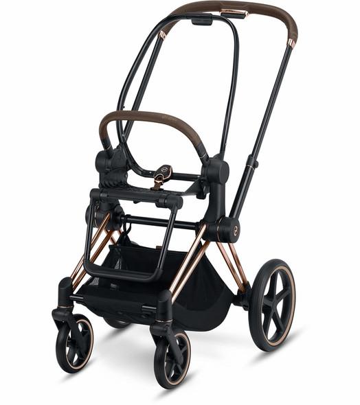 Cybex Priam Stroller Frame incl. Seat Hardpart in Rosegold