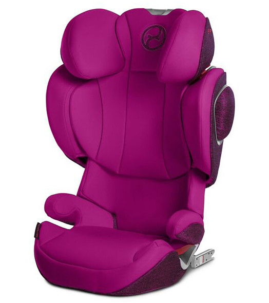Cybex Solution Booster Car Seat in Passion Pink