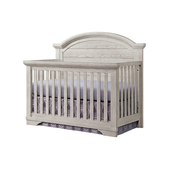 Westwood Foundry Arch Top Convertible Crib in White Dove