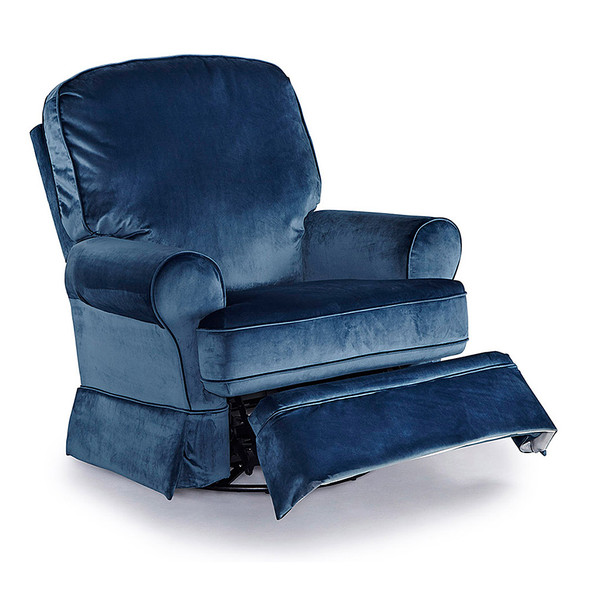 Best Chairs Dakota Recliner in Navy