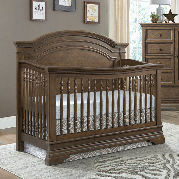 Westwood Olivia Arched Crib in Rosewood