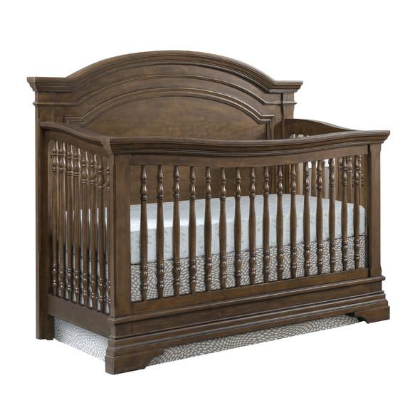Westwood Olivia 3 Piece Nursery Set Arched Crib in Rosewood