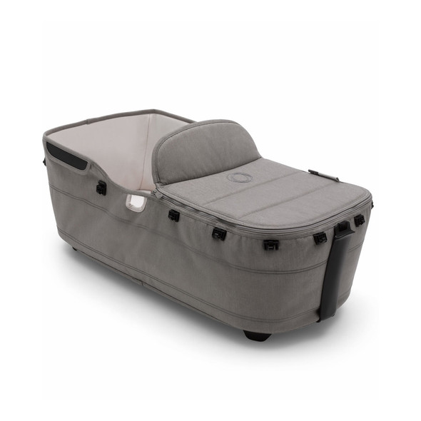 Bugaboo Lynx Mineral Bassinet Fabric Complete in Light Grey