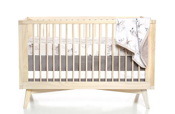 Oilo Cottontail Jersey Crib Sheet