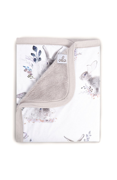 Oilo Cottontail Jersey Cuddle Blanket