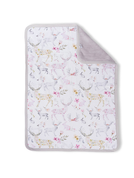 Oilo Fawn Jersey Cuddle Blanket