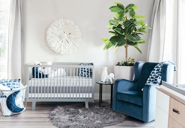 Oilo Elefant Jersey Crib Sheet