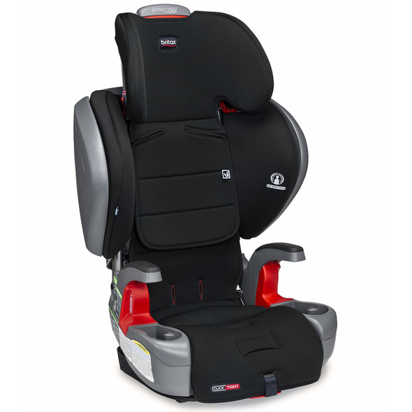 Britax Grow With You ClickTight Plus Booster Car Seat in Jet