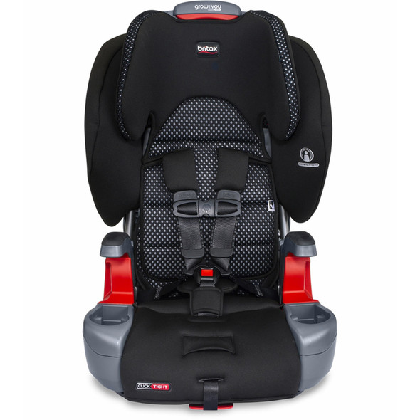 Britax Grow With You ClickTight Booster Car Seat in Cool Flow Grey