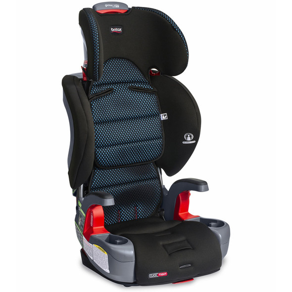 Britax Grow With You ClickTight Booster Car Seat in Cool Flow Teal