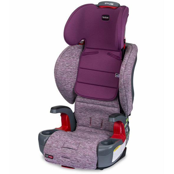 Britax Grow With You ClickTight Booster Car Seat in Mulberry