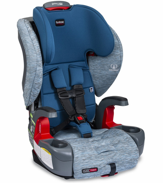 Britax Grow With You ClickTight Booster Car Seat in Seaglass