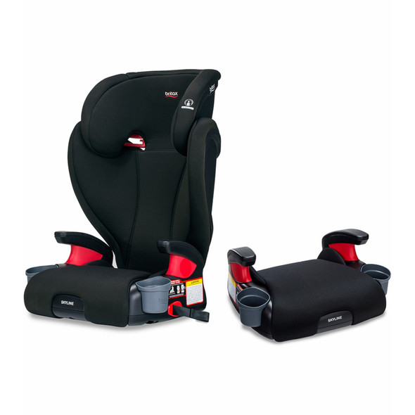 Britax Skyline 2-Stage Belt-Positioning Booster Car Seat in Dusk