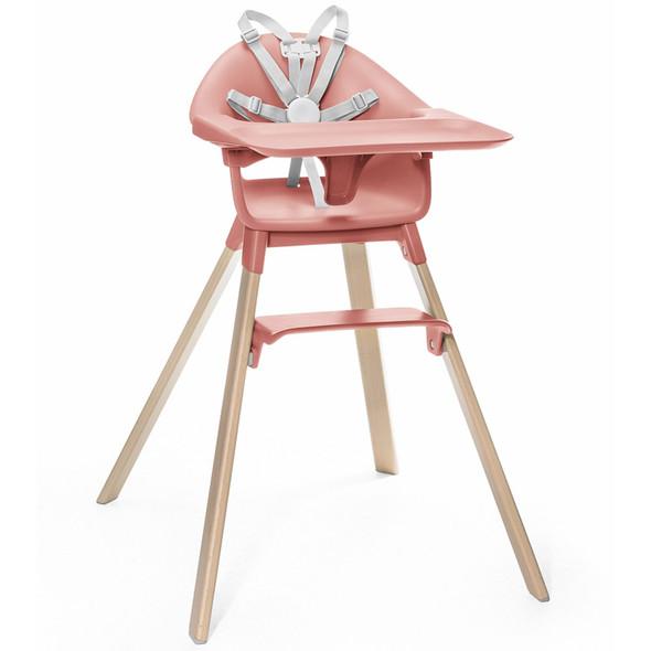 Stokke Clikk High Chair in Sunny Coral