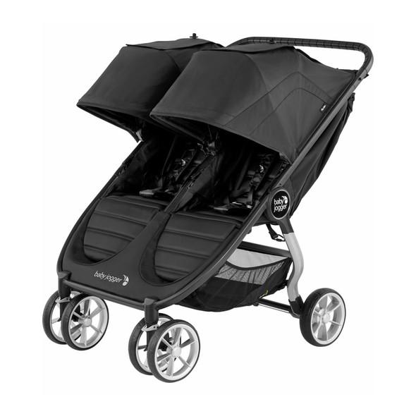Baby Jogger City Mini 2 Double Stroller - Jet