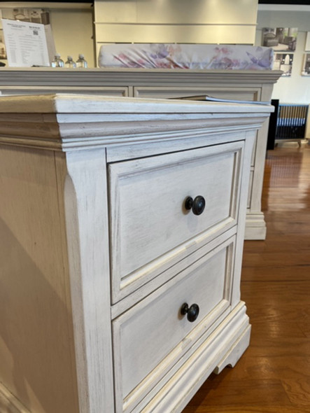 Westwood Olivia Pier Chest in Brushed White