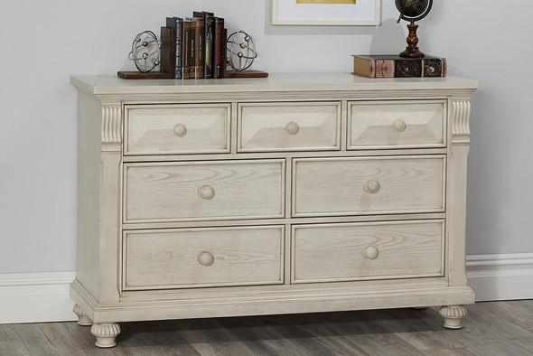 Baby Cache by Heritage Sedona 7 Drawer Dresser Dresser in Vintage Ivory