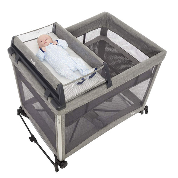 HALO DreamNest Open Airflow SleepSystem Diaper Changer
