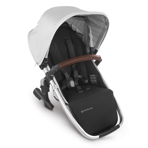 Uppa Baby Rumbleseat V2 - Bryce (White Marl/Silver/Chestnut Leather)