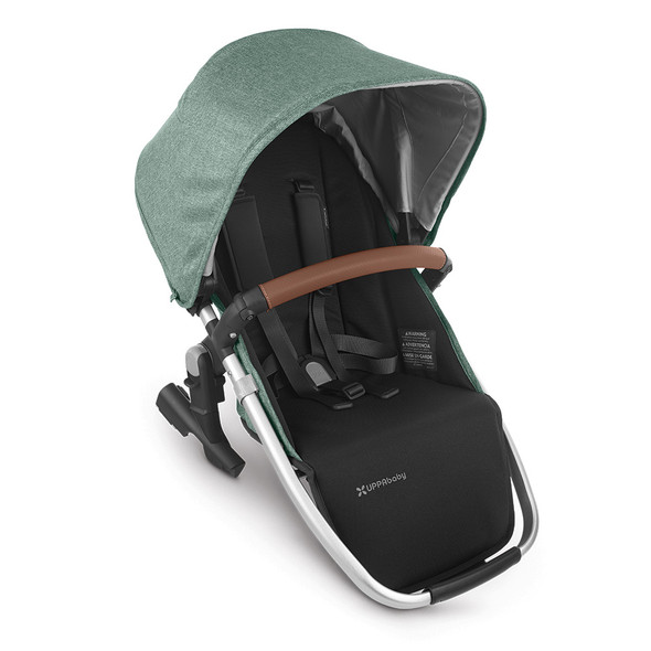 Uppa Baby Rumbleseat V2 - Emmett (Green Melange/Silver/Saddle Leather)