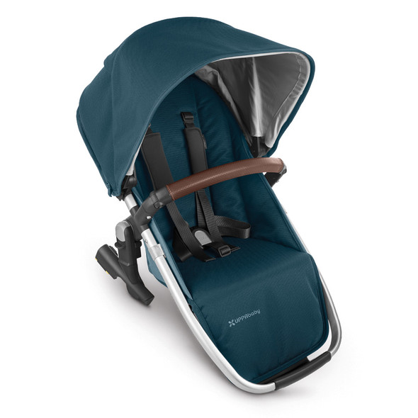 Uppa Baby Rumbleseat V2 - Finn (Deep Sea/Silver/Chestnut Leather)