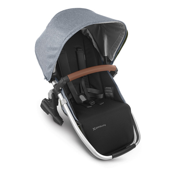 Uppa Baby Rumbleseat V2 - Gregory (Blue Mélange/Silver/Saddle Leather)