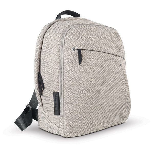 Uppa Baby Changing Backpack -Sierra (Dune Knit/Black Leather)