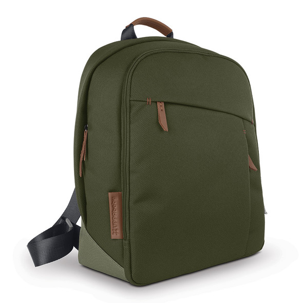 Uppa Baby Changing Backpack - Hazel (Olive/Saddle Leather)