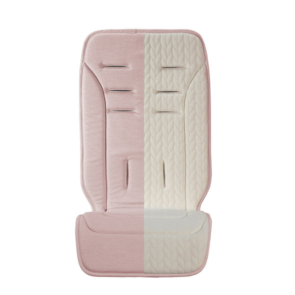 Uppa Baby Reversible Seat Liner - Alice (Dusty Pink/Cozy Knit)