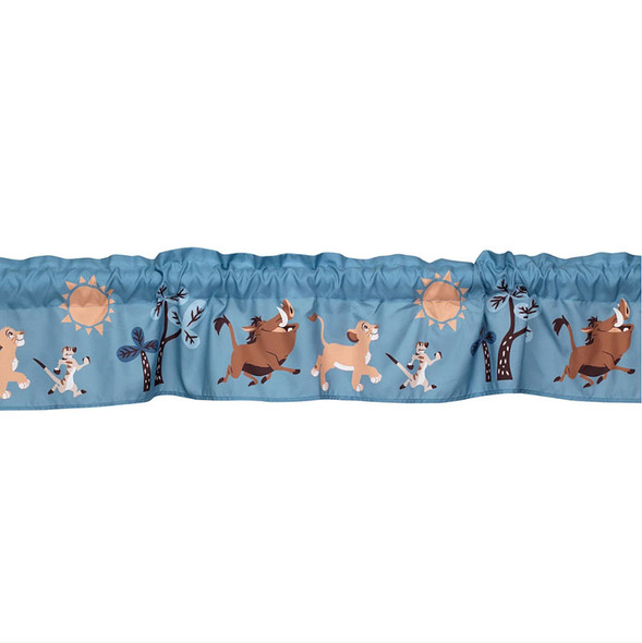 Lambs & Ivy Lion King Adventure Window Valance